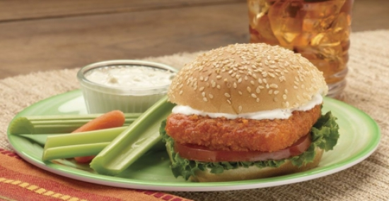 Buffalo Fish Burger