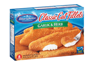 Classic Cut Garlic & Herb Fillets
