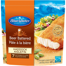 Beer Batter Haddock